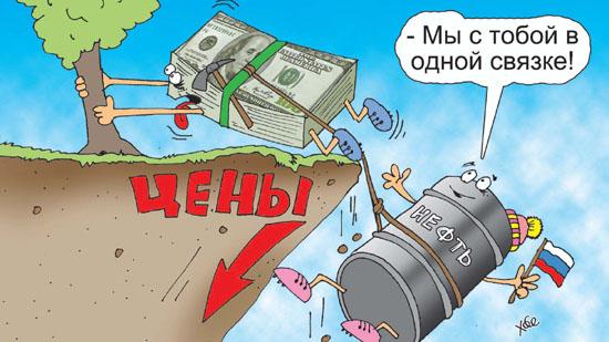 Доллар и нефть в одной связке